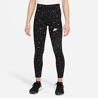 Nike Sportswear Favorites Leggings mit Print für ältere Kinder (Mädchen)