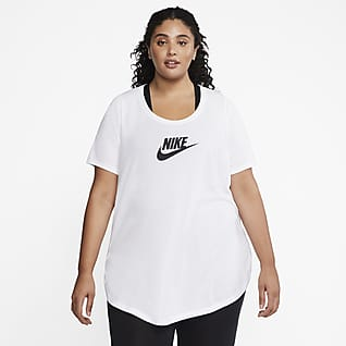 Nike Sportswear Essential Playera larga para mujer (talla grande)