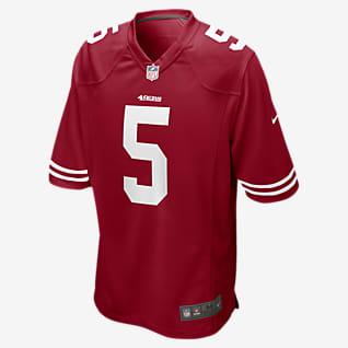 NFL San Francisco 49ers (Trey Lance) Men's Game Football Jersey