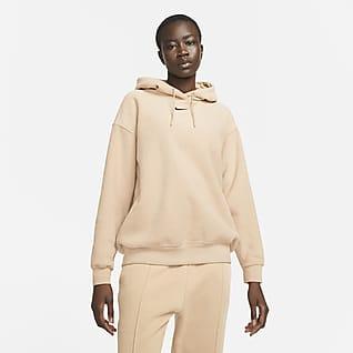 Nike Sportswear Essentials Mjuk huvtröja för kvinnor