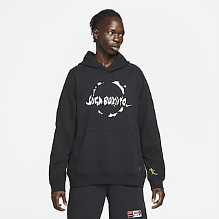 Nike F.C. Men's Knit Soccer Pullover Hoodie