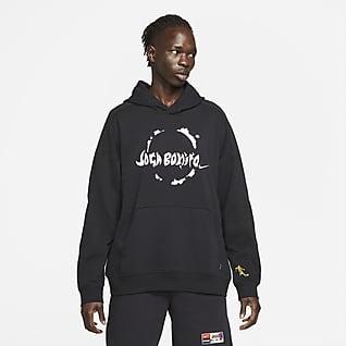 Nike F.C. Hoodie pullover de futebol de malha para homem
