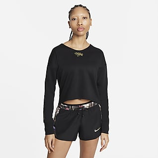 Nike Femme Camada intermédia de running para mulher