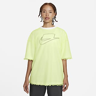 Nike Sportswear NSW Women's Tulle Short-Sleeve Top