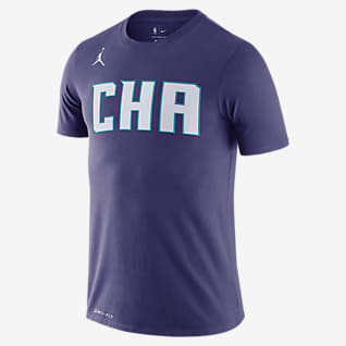 Hornets Statement Edition Men's Jordan Dri-FIT NBA T-Shirt
