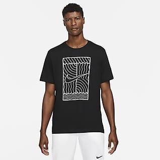 NikeCourt Erkek Tenis Tişörtü