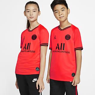Jordan x Paris Saint-Germain 2019/20 Stadium Away Older Kids' Football Shirt