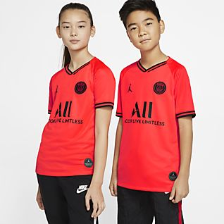 Jordan x Paris Saint-Germain 2019/20 Stadium Away Voetbalshirt voor kids