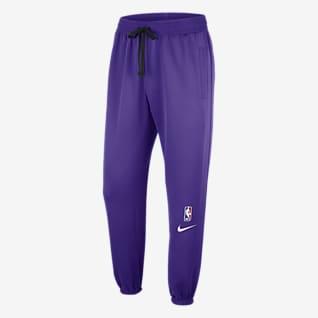 Los Angeles Lakers Showtime Calças NBA Nike Therma Flex para homem