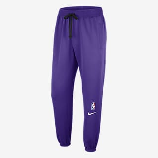 Los Angeles Lakers Showtime Pantalones de la NBA Nike Therma Flex para hombre