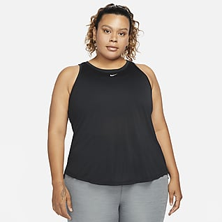 Nike Dri-FIT One Canotta Standard Fit (Plus size) - Donna