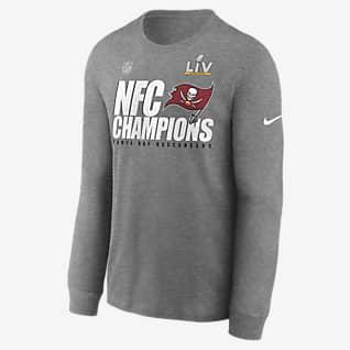 Nike Super Bowl LV Lockup (NFL Tampa Bay Buccaneers) Men's Long-Sleeve T-Shirt