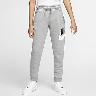 Nike Sportswear Club Fleece Bukse til store barn (gutt)