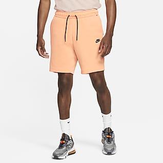 Nike Sportswear Tech Fleece Shorts met gewassen look voor heren