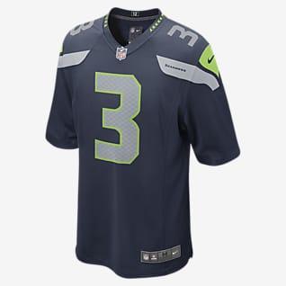 NFL Seattle Seahawks (Russell Wilson) Men's Game American Football Jersey