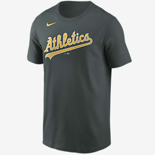 Nike Wordmark (MLB Oakland Athletics) Men's T-Shirt