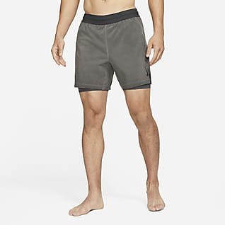 Nike Yoga Dri-FIT Shorts 2-in-1 - Uomo