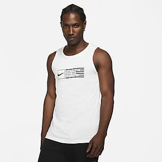 Nike Dri-FIT Мужская майка с графикой для тренинга