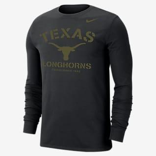 Nike College Dri-FIT (Texas) Men's Long-Sleeve T-Shirt