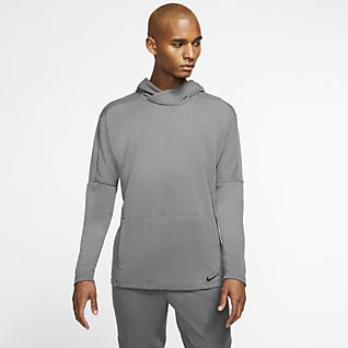 Nike Yoga Dri-FIT Pullover-hættetrøje til mænd