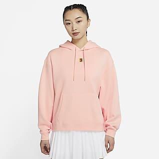 NikeCourt 女子针织网球连帽衫