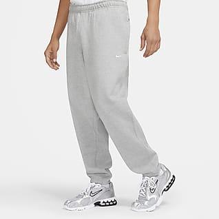NikeLab Calças de lã cardada