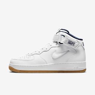 Nike Air Force 1 Mid Erkek Ayakkabısı