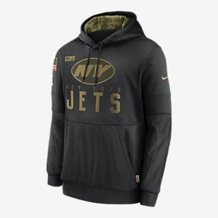 Nike Therma Salute to Service (NFL Jets) Sudadera con capucha para hombre