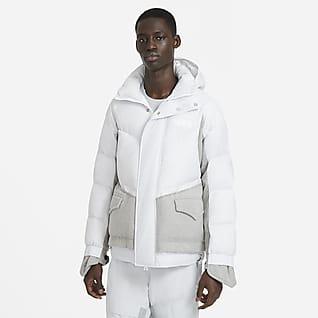 Nike x sacai 男款防寒大衣