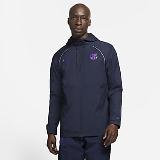 F.C. Barcelona AWF Men's Football Jacket