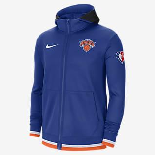 New York Knicks Nike Showtime Men's Nike Dri-FIT NBA Full-Zip Hoodie