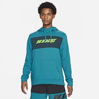Nike Dri-FIT Sport Clash Pullover-træningshættetrøje til mænd