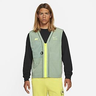 Nike Sportswear DNA Geweven bodywarmer voor heren
