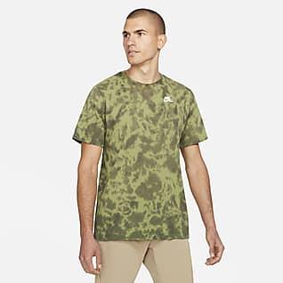 Nike Мужская футболка для гольфа с принтом тай-дай