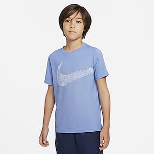 Nike Top de entrenamiento para niño talla grande