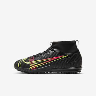 Nike Jr. Mercurial Superfly 8 Academy TF Scarpa da calcio per campi in erba artificiale/sintetica - Bambini/Ragazzi