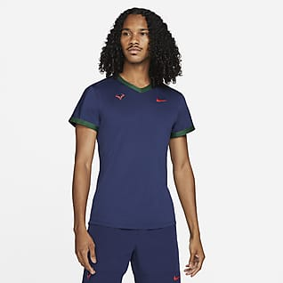 NikeCourt Dri-FIT ADV Rafa Kurzarm-Tennisoberteil für Herren