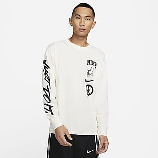 ナイキ マックス 90 メンズ バスケットボール ロングスリーブ Tシャツ