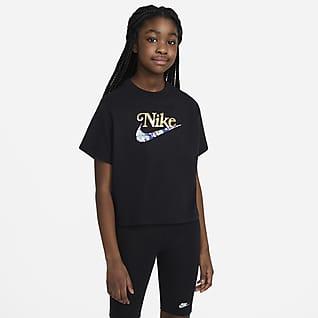 Nike Sportswear Tričko pro větší děti (dívky)