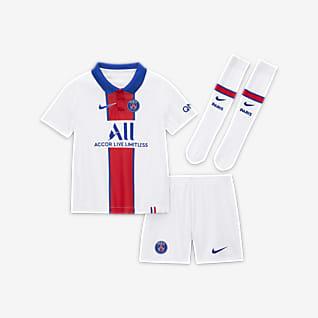 Paris Saint-Germain de visitante 2020/21 Kit de fútbol para niños talla pequeña