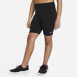 Nike Trophy Spodenki treningowe do jazdy na rowerze dla dużych dzieci (dziewcząt) (o wydłużonym rozmiarze)
