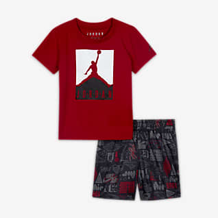 Jordan Baby (12-24M) T-Shirt and Shorts Set