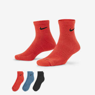 Nike Everyday Plus Cushioned Training Ankle Socks (3 Pairs)