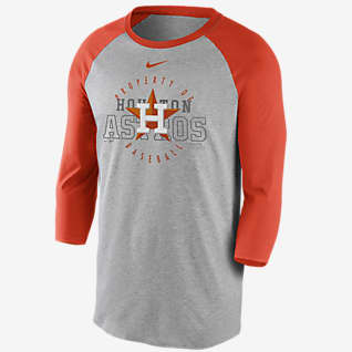 Nike Property Of (MLB Houston Astros) Men's 3/4-Sleeve T-Shirt