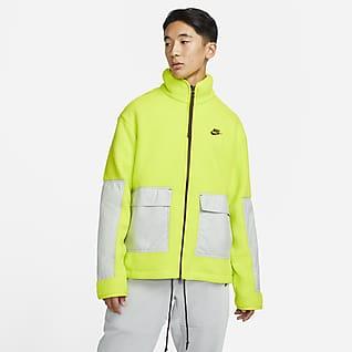 Nike Sportswear Sport Essentials+ Fleece-Jacke mit durchgehendem Reißverschluss für Herren