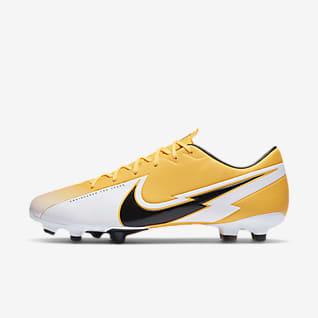 nike football boots orange and black