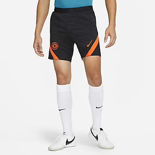 Chelsea FC Strike Мужские трикотажные футбольные шорты Nike Dri-FIT