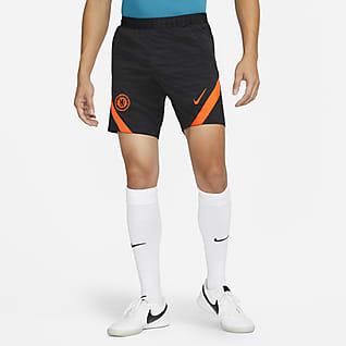 Chelsea FC Strike Pantalons curts de teixit Knit Nike Dri-FIT de futbol - Home