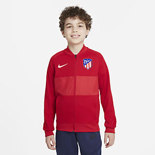 Atlético Madrid Veste de survêtement de football à zip pour Enfant plus âgé