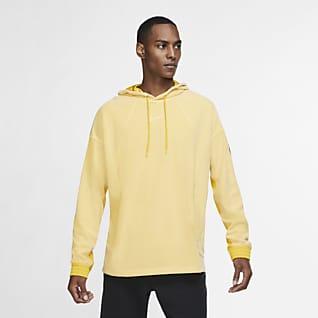Nike Hoodie pullover de treino em lã cardada para homem